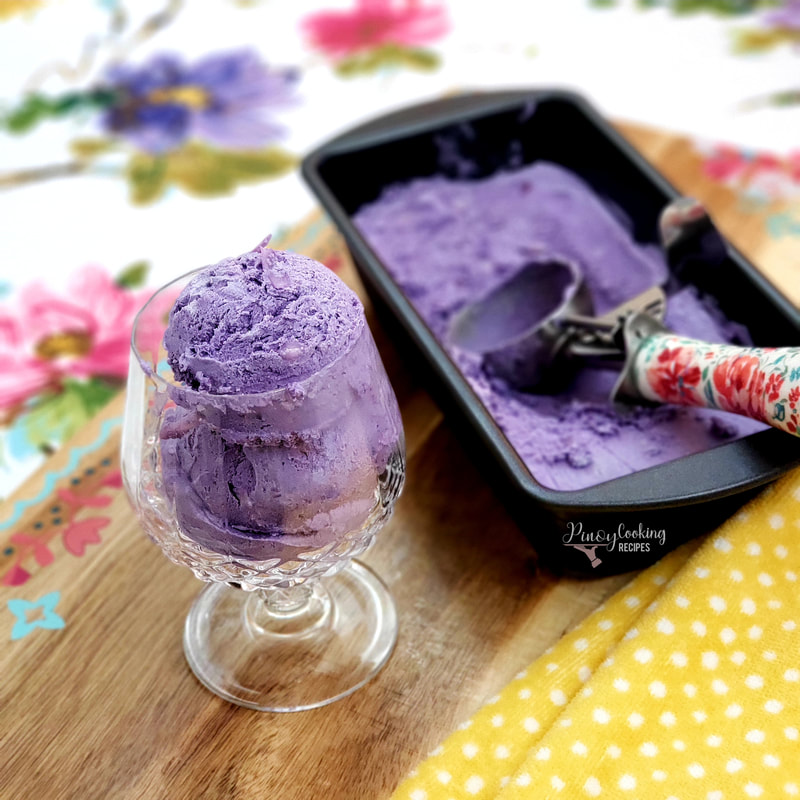 6 Tips For A Kitchen You Can Love For A Lifetime: Ube Macapuno Ice Cream